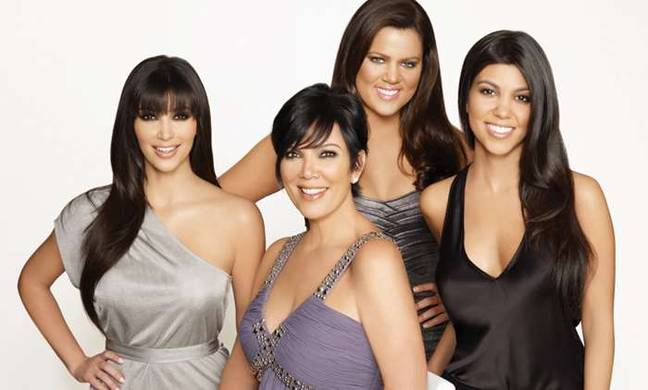 Fancy winding the clock back to see where Kim, Kourtney, Khloe and Kris were in S3? (Credit: E! Entertainment)