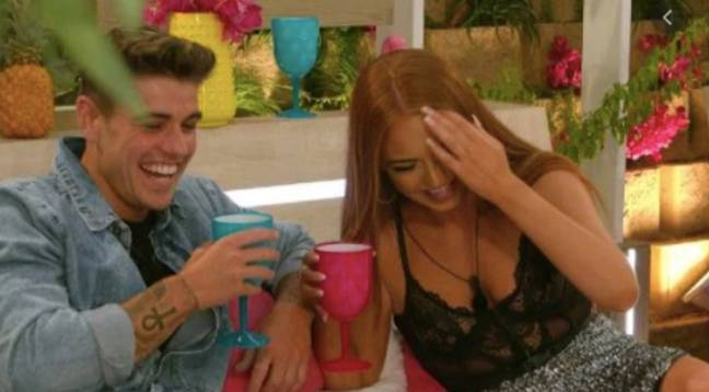 Luke M and Demi were favourites in the villa (Credit: ITV)