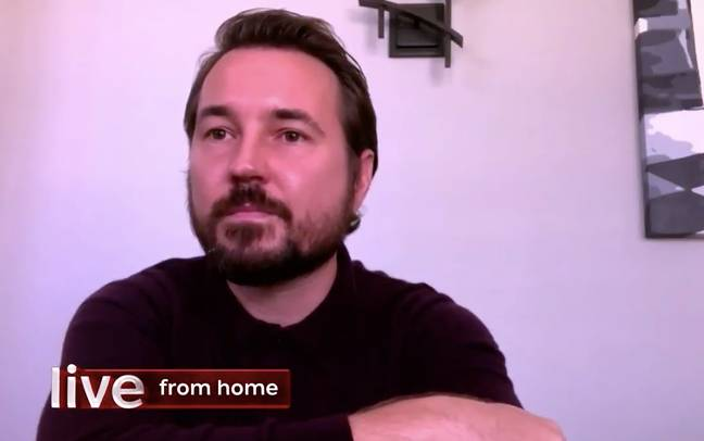 Martin Compston spoke about the drama's return on 'The One Show' (Credit: BBC)