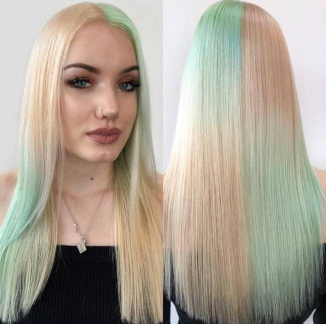 Nikita also loves this look if done with pastels (Credit: Palmer Fisher London)