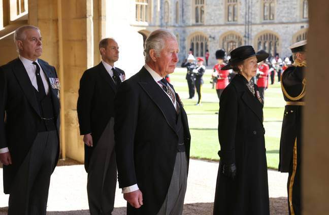 All senior members of the royal family were in attendance (Credit: PA)