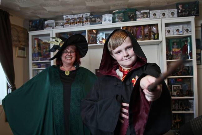 Tracey wants to turn the pub into a 'Harry Potter' shrine (Credit: Caters News)