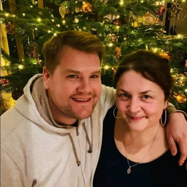 James Corden and Ruth Jones are both keeping us on our toes (Credit: Twitter/ James Corden)