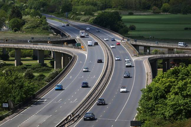 The A27 is normally a busy A-road (Credit: PA)