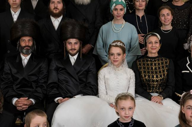 Etsy is past of an orthodox Jew community in Williamsburg (Credit: Netflix)
