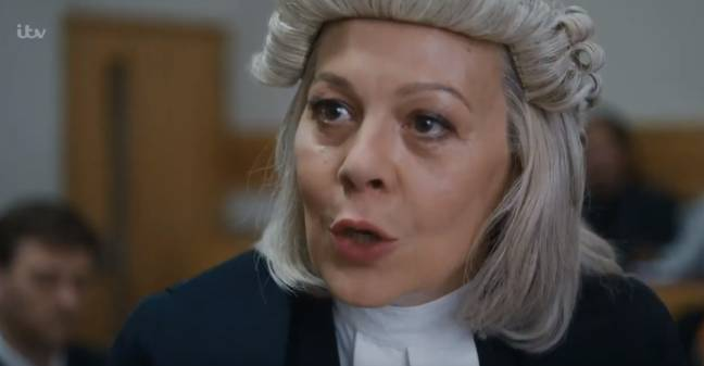 It stars Helen McCrory as Sonia Woodley QC (Credit: ITV)