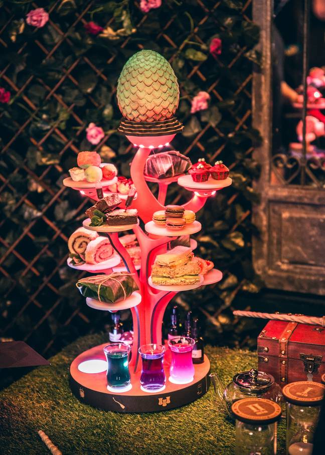 Enjoy this magical feast (Credit: The Cauldron Co)
