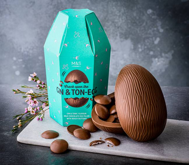 Behold the M&S Gin & Ton-Egg (Credit: M&S)