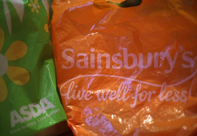 Experts are concerned about the use of sturdier, 'bags for life' like the plastic bags pictured here (Credit: PA)