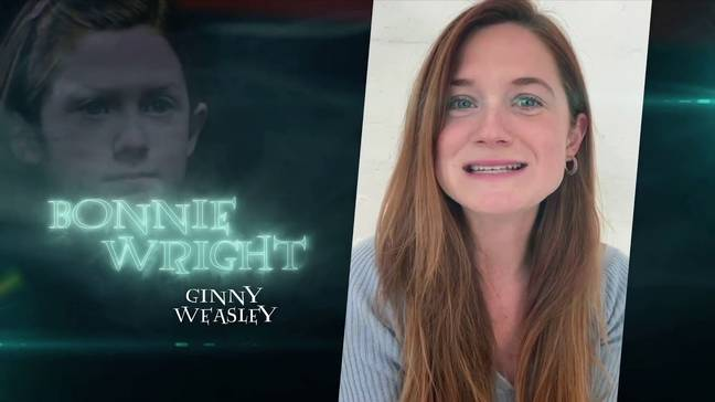 Bonnie Wright also made an appearance (Credit: Tom Felton/Veeps)