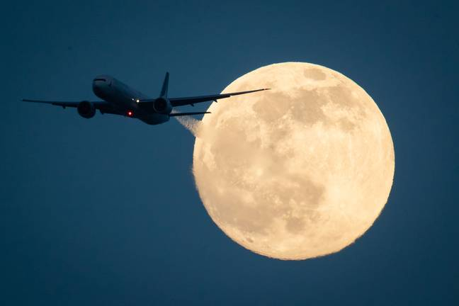 Did you know the full moon can affect your sleep? (Credit: PA)