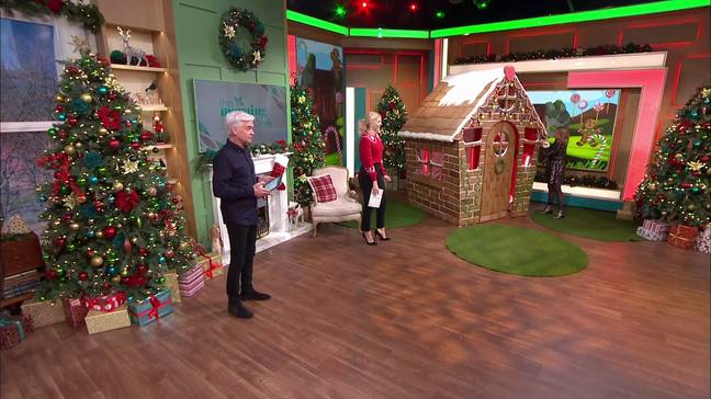 Holly and Phil heard about all the gifts (Credit: ITV/ This Morning)