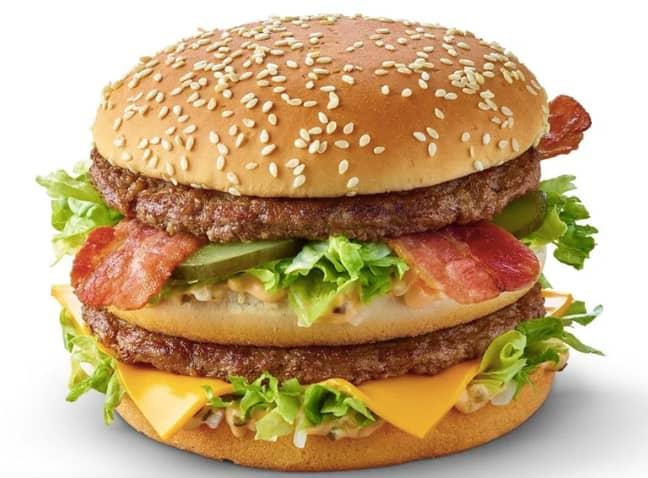 The grand Big Mac is also returning (Credit: McDonald's)