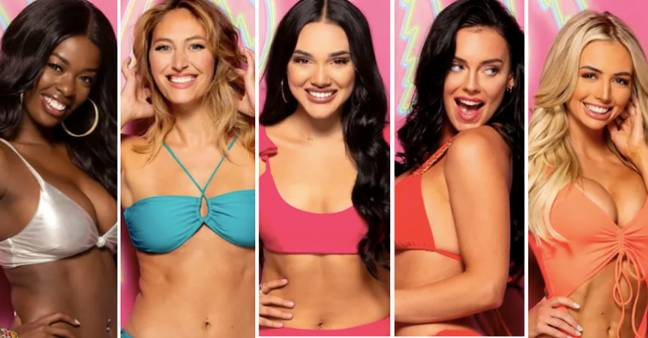 Meet the girls: Justine, Moira, Cely, Kaitlynn, Mackenzie (from left to right) (Credit: ITV)