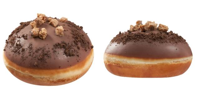 Krispy Kreme is selling a doughnut filled with cookie dough (Credit: Krispy Kreme)