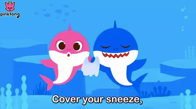 Baby Shark is back with some handy advice (Credit: Pinkfong!)