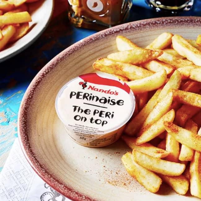 PERI-PERI chips will be on the menu (Credit: Nando's/ Instagram)