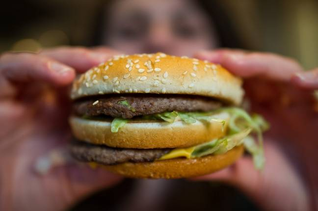 Chow down on a special Big Mac at McDonald's (Credit: PA Images)