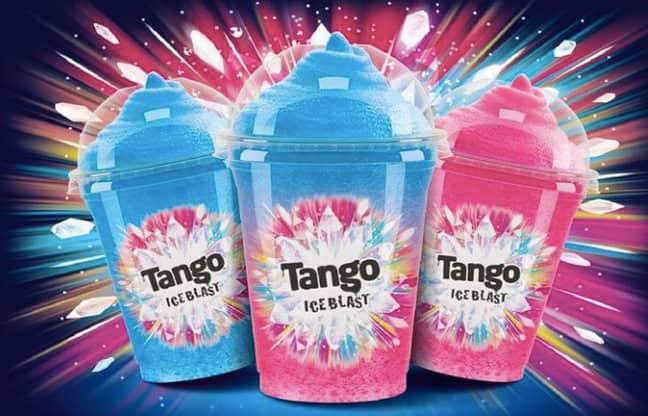 The lollies taste like Tango ice blasts (Credit: Tango)