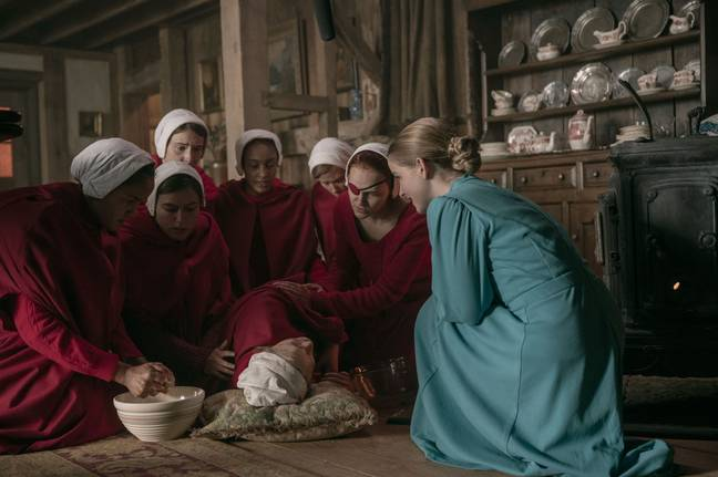 Viewers were upset that some of the handmaids appeared to be killed at the end of the episode (Credit: Channel 4)