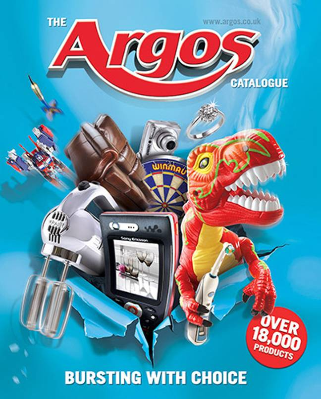 The famed catalogue has been printed annually since 1972 (Credit: Argos)