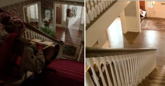 All that's changed about the stairs is the colour scheme (Credit: Marissa Hopkins/Disney)