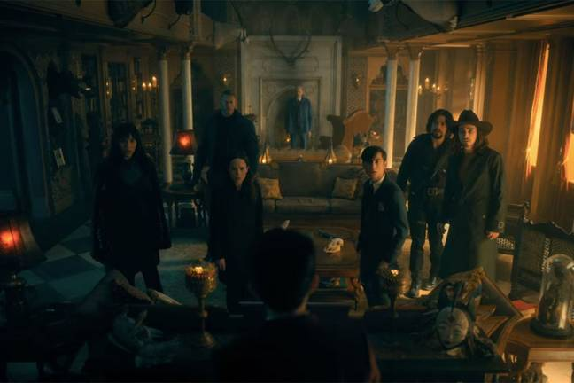 The new family were introduced at the end of season 2 (Credit: Netflix)