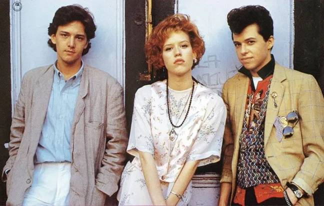 'Pretty In Pink' follows teen record store clerk and outcast Andie (Molly Ringwald) as she navigates high school (Credit: Paramount Pictures)