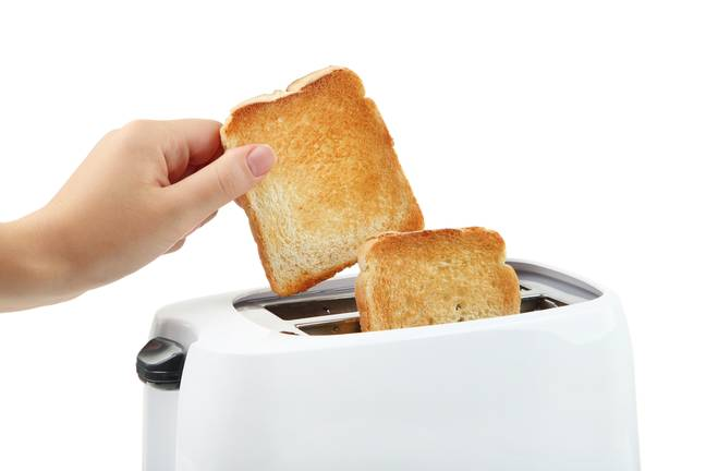 People have different ideas about how dark their toast should be (Credit: Shutterstock)