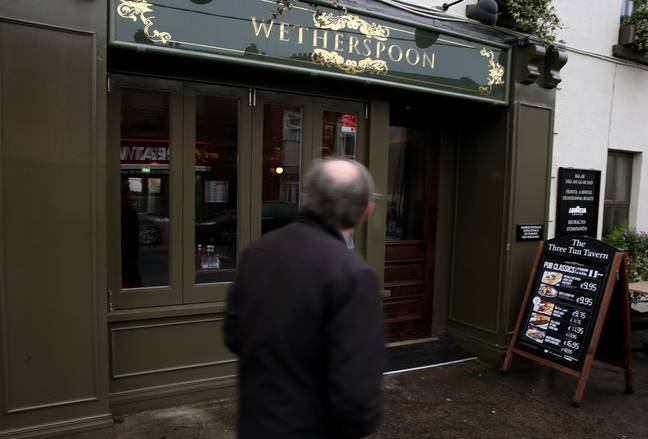 Head to your local Wetherspoon for a gin (Credit: PA)