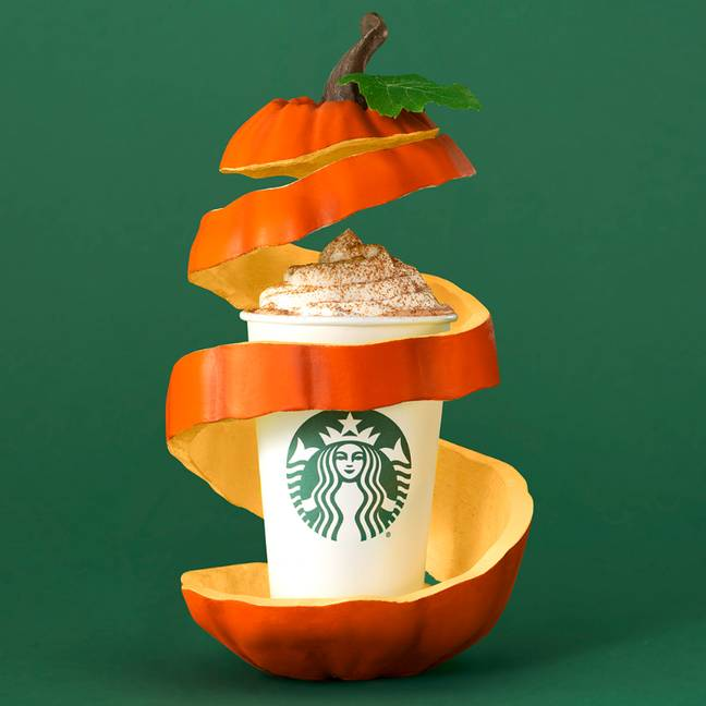 The famous PSL is back later this month (Credit: Starbucks)