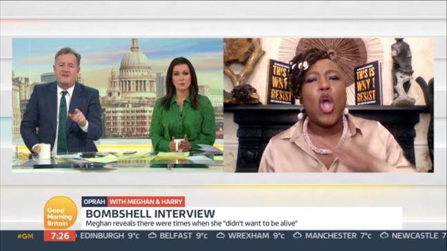 The argument on GMB became heated (Credit: ITV)