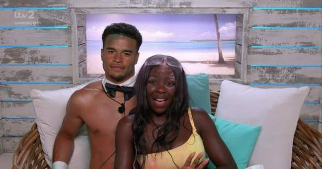 Kaz was frustrated that Toby hadn't kissed her outside a challenge (Credit: ITV)