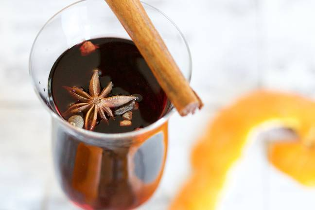 Christmas is the perfect time to indulge in delicious food and drink although mulled wine did not prove to be a popular choice among voters (Credit: Unsplash)