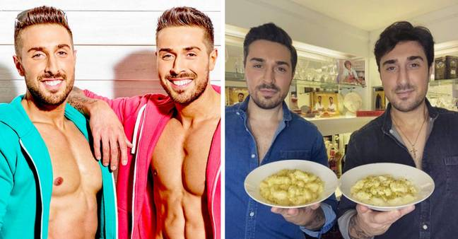 The Alberti Twins have all grown up (Credit: ITV/Instagram - thealbertitwins)
