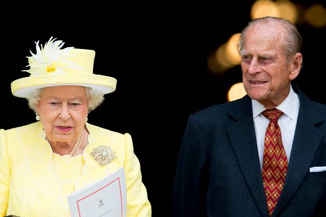 Prince Philip died with the Queen by his side (Credit: PA Images)