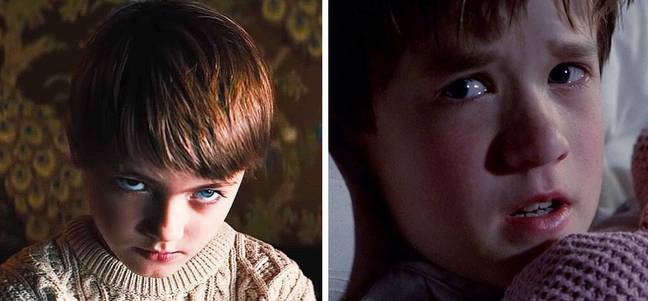 The two boys both find it hard to fit in but for very different reasons (Credit: Orion Pictures/Buena Vista Pictures)
