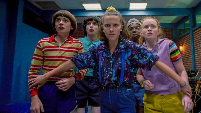 Millie Bobby Brown is popular in Stranger Things (Credit: Netflix)