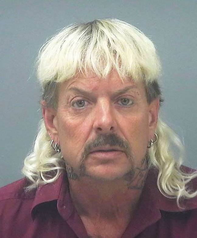 Joe Exotic is currently serving a 22 year sentence (Credit: Santa Rosa County Jail)