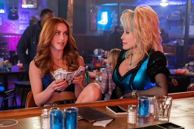 Julianna Hough plays Jolene in Dolly Parton's Heartstrings Netflix series (Credit: Netflix)