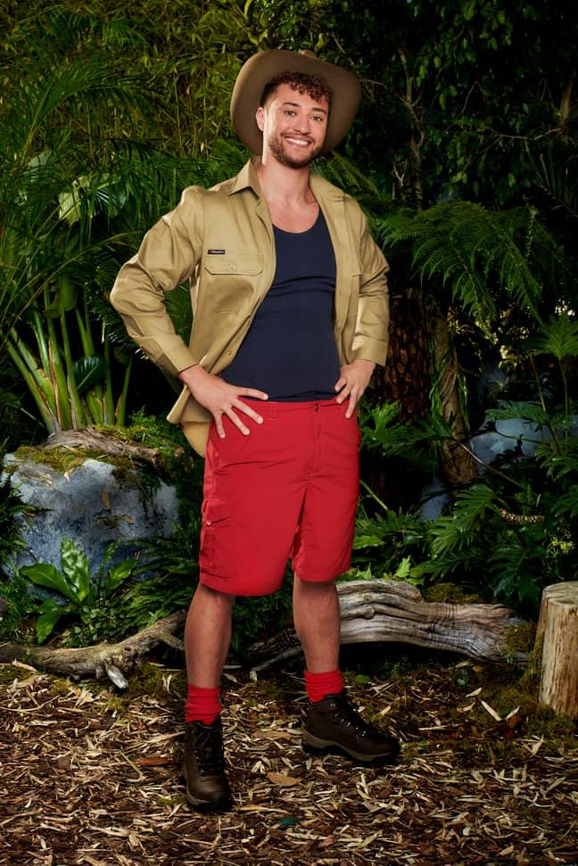 Rak-su's Myles Stephenson has jetted to Australia for the show. (Credit: ITV)