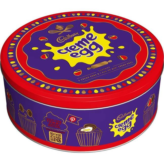 Creme Egg tubs for £5.99 are also on the way for Easter 2020. (Credit: Cadbury)