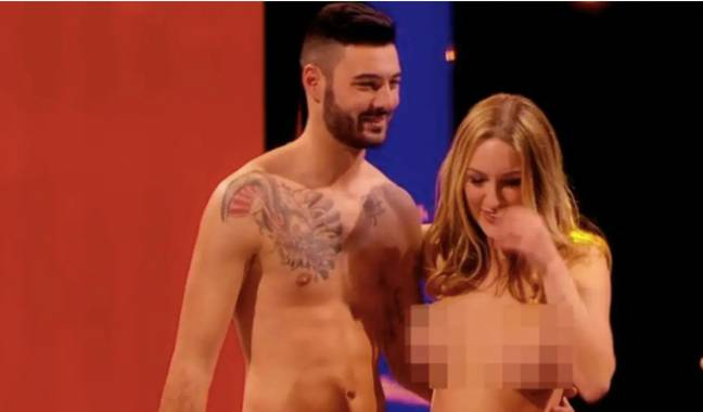 Tracy and Mark met on Naked Attraction in 2016 (Credit: Channel 4)