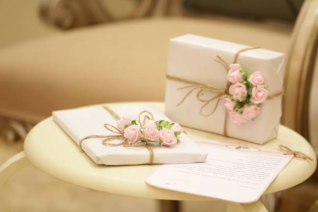 The bride had totted up a number of guests who had not bought the newlyweds a present (Credit: Unsplash)