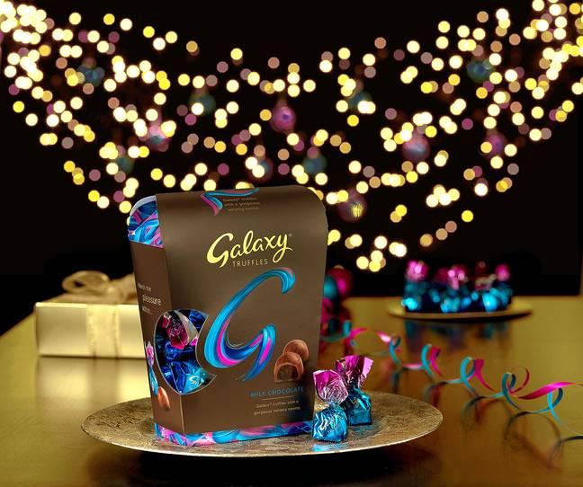 Galaxy Truffles are now available in a large gift box (Credit: Mars Wrigley UK)
