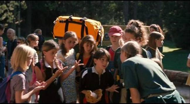 Remember the boy who ended up at Camp Walden?! That's Lindsay's brother! (Credit: Disney)