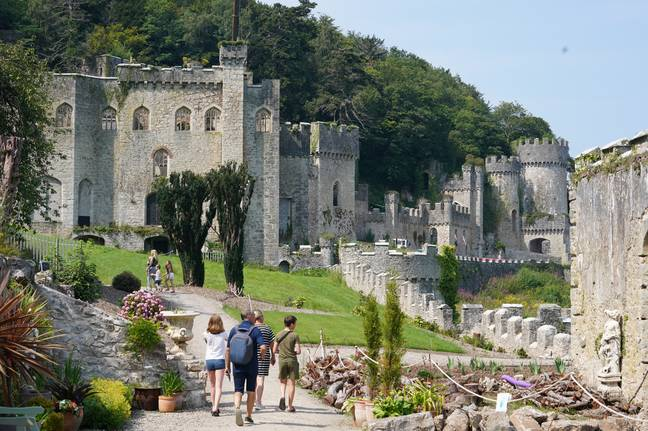 The castle is Grade I listed (Credit: Caters)