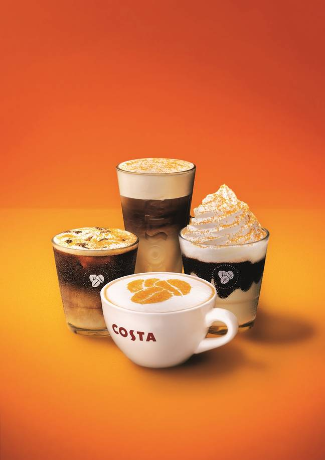 Costa's new Honeycomb Collection is available in stores now (Credit: Costa)
