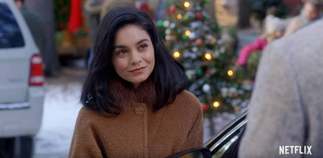 The Knight Before Christmas stars Vanessa Hudgens (Credit: Netflix)