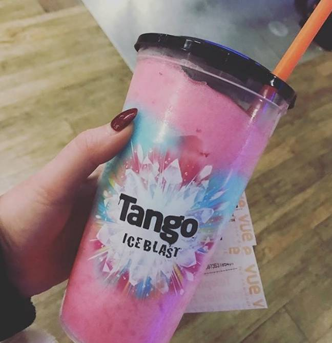 Time for a cinema experience from home (Credit: Instagram/ Tango Ice Blast / @hayley25rebecca)